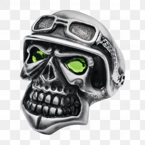 Biker - Skully Ring Jewellery Clothing Accessories Jewelry Designer PNG