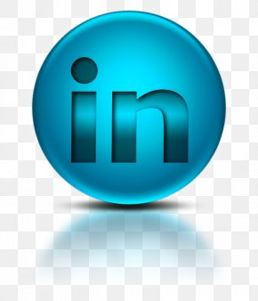 098454 Blue Metallic Orb Icon Social Media Logos Linkedin Logo - Social Media Logo LinkedIn PNG