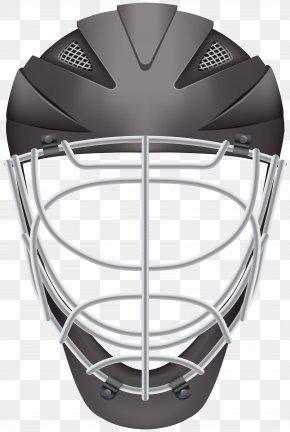 Hockey Helmet Black Clip Art - Football Helmet Lacrosse Helmet Hockey Helmet Clip Art PNG