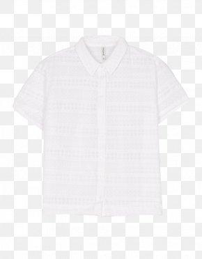 T-shirt - Blouse T-shirt Collar Neck Sleeve PNG