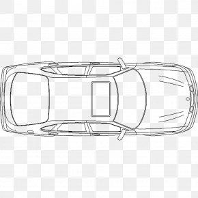 Plan - Car Drawing Line Art Plan PNG