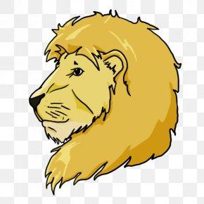 Lion Head - Mammal VKontakte Cat-like Carnivora PNG