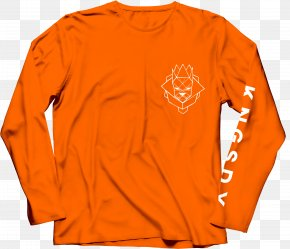 Long-sleeved - Long-sleeved T-shirt Poochie's Park Clothing Hoodie PNG
