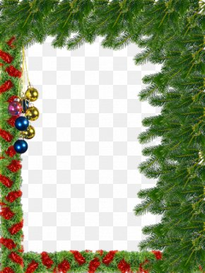 Christmas Frame Transparent Background - Christmas Picture Frame PNG