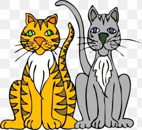 Cats Cliparts - Persian Cat Kitten Cartoon Clip Art PNG