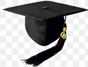 Black Bachelor Cap - Student Education Doctorate Graduation Ceremony Bachelors Degree PNG