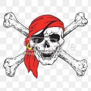 Skull - Skull And Crossbones Jolly Roger Piracy Human Skull Symbolism PNG