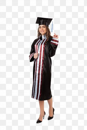 Academic Dress Robe Graduation Ceremony Academician Square Academic Cap PNG