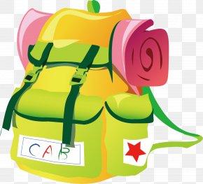 Backpack - Backpack Travel Bag Clip Art PNG