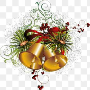 Christmas Bell Element - Christmas Bell Party PNG