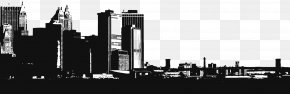 City Silhouette - Cities: Skylines New York City PNG