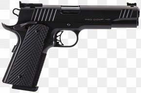 Handgun - Para USA .45 ACP Black Operation Pistol Firearm PNG