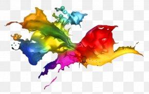 Color Splash - Graphic Designer Logo PNG