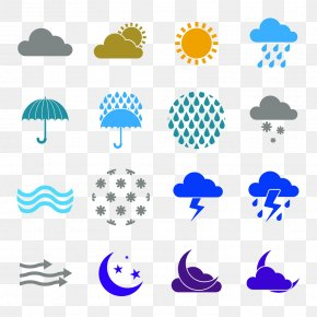 Weather Icon Vector Image - Weather Forecasting Icon PNG