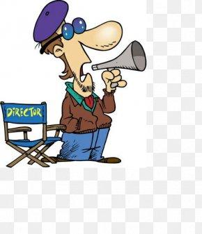 Movie Director - Film Director Cartoon Résumé Cinematographer PNG