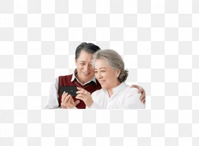 Elderly Couple - Old Age Samsung Galaxy Note 4 Grandparent Loudspeaker PNG