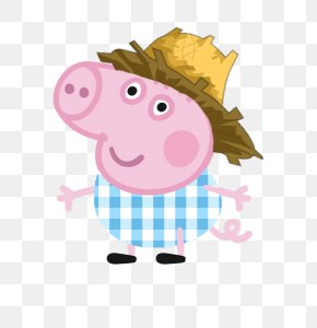 PEPPA PIG - Daddy Pig Mummy Pig George Pig Child PNG
