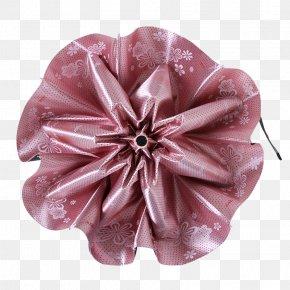 A Half-open Folding Umbrella - Umbrella Pink Ultraviolet PNG