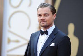 Leonardo Dicaprio - Leonardo DiCaprio The Wolf Of Wall Street 86th Academy Awards Actor PNG