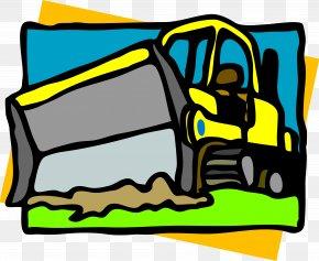Bulldozer - Snowplow Plough Snow Removal Clip Art PNG