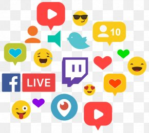 Audiance Streamer - Streaming Media Live Television Smiley Clip Art Internet PNG
