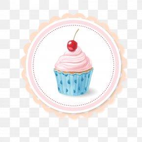 Watercolor Cupcakes - Cupcake Fruitcake Muffin PNG