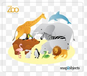 Animals Vector - Giraffe Zoo Clip Art PNG