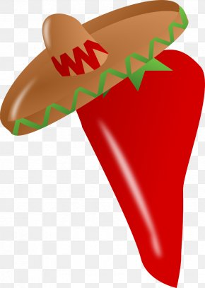 Hat Pepper - Mexican Cuisine Cinco De Mayo Clip Art PNG