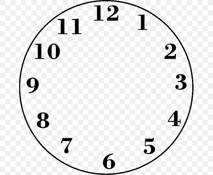Clock Face Measurement Time Clip Art Png 672x672px Clock Face Area Black And White Clock Home