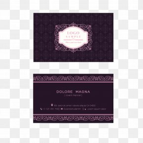 Elegant Business Card Template Design - Business Card Template Graphic Design PNG