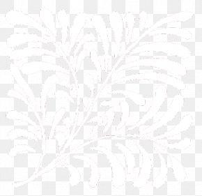 Sketch Line Art Font Black PNG