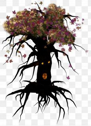 Cartoon Tree - Tree Forest Clip Art PNG