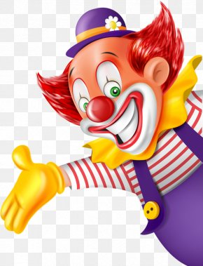 Funny Clown - Clown Party Circus PNG