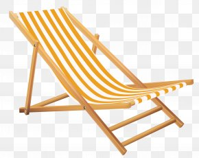 Transparent Beach Lounge Chair Clipart - Eames Lounge Chair Beach Clip Art PNG