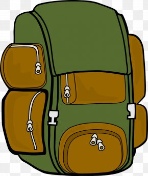 Hiking - Clip Art Women Hiking Backpacking Clip Art PNG