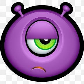 Amazed - Emoticon Monster Avatar YouTube PNG