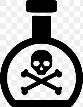 Skull - Skull And Crossbones Human Skull Symbolism Poison Toxicity PNG