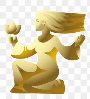 Vector Virgo Statue Material - Euclidean Vector Virgo Illustration PNG