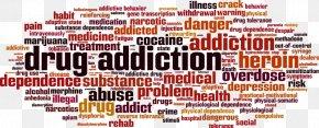 Drug Addict - Substance Dependence Addiction Drug Substance Abuse Word PNG