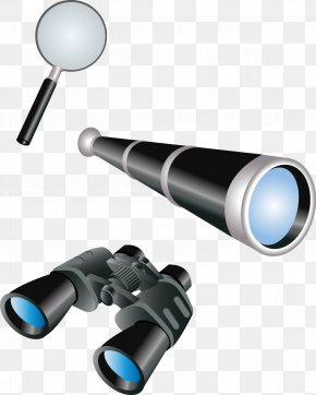 Vector Magnifying Glass Telescope Image - Telescope Download PNG
