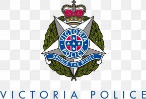 Police - Victoria Police Delovo Group Police Officer Badge PNG