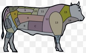 Brazil Creative - Cattle Churrasco Brazilian Cuisine Cut Of Beef Meat PNG