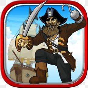 Pirate Parrot - Piracy Clip Art PNG