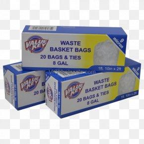 Trashbag - Rubbish Bins & Waste Paper Baskets Bin Bag Twist Tie Material PNG