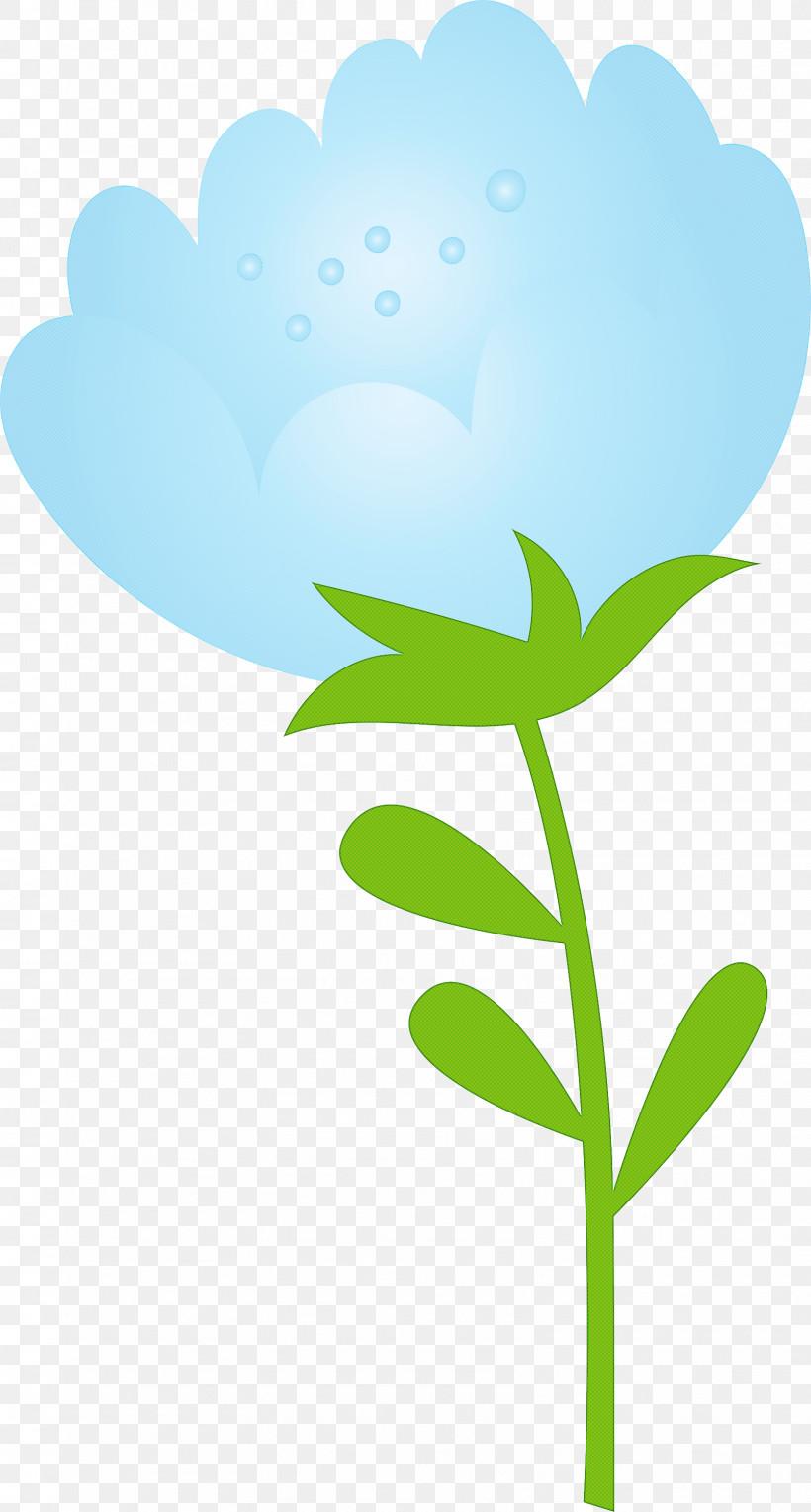 Leaf Green Plant Flower Plant Stem, PNG, 1608x2999px, Spring Flower, Cartoon, Flower, Green, Leaf Download Free