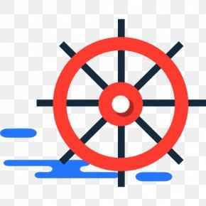 Ship - Ship's Wheel Steering Wheel PNG