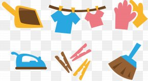Vector House Cleaning - Cleaning Cleaner Housekeeping Icon PNG