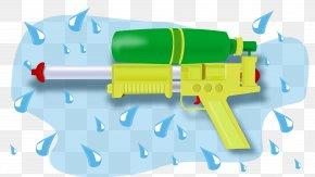 Gun - Firearm Water Gun Clip Art PNG