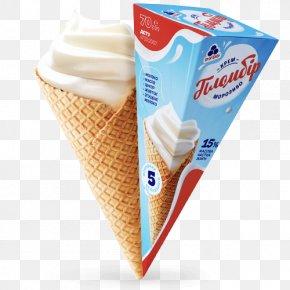 Ice Cream - Ice Cream Cones Milk Chocolate Taste PNG