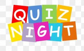 Quiz - Pub Quiz Ticket Bar Prize PNG